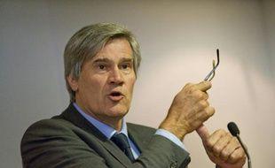 Le ministre français de l'Agriculture Stéphane le Foll, le 7 octobre 2015 à Cournon-d'Auvergne