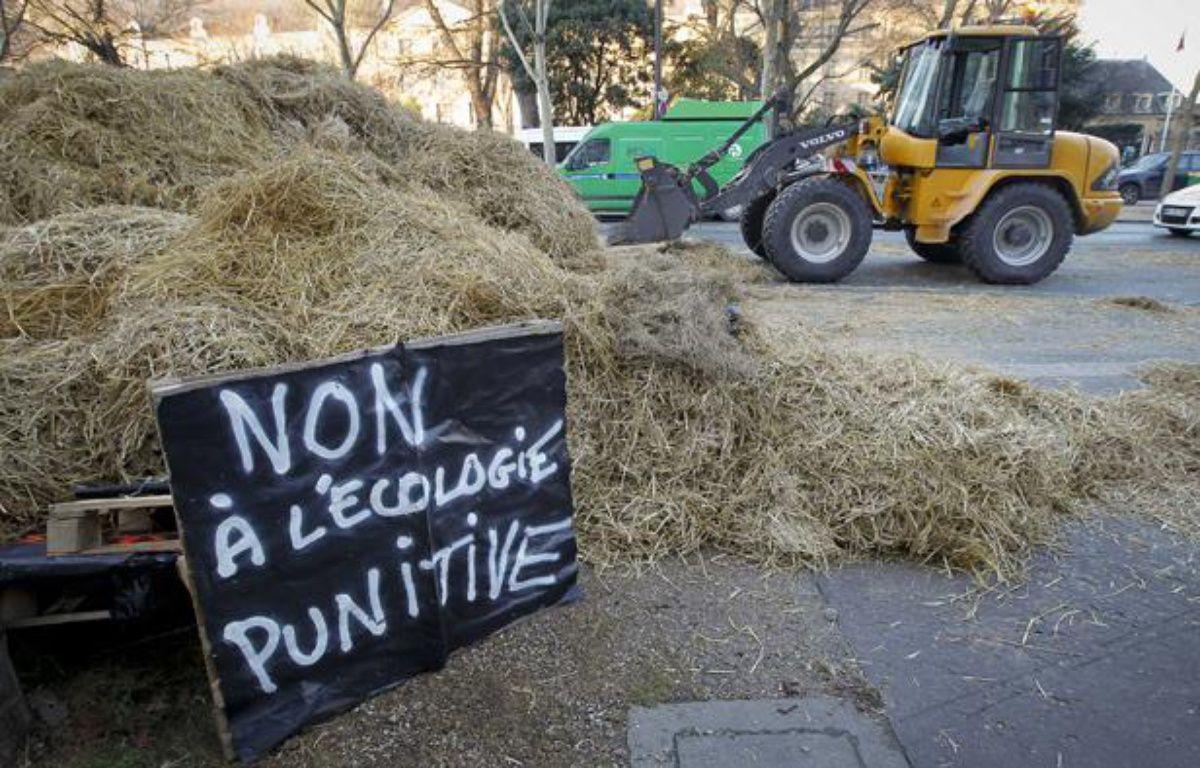 Manifestation des agriculteurs le 16 janvier 2013 à Paris. – A. GELEBART/20 MINUTES