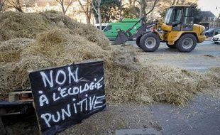 Manifestation des agriculteurs le 16 janvier 2013 à Paris.