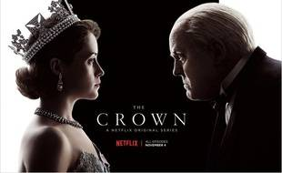 «The Crown», la série Netflix (illustration)