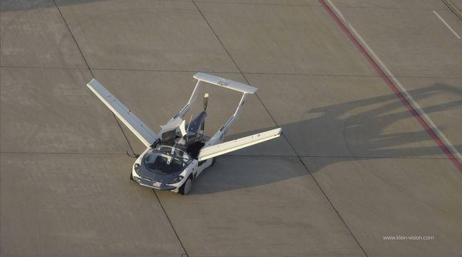 Slovaquie: Cette voiture se transforme en petit avion en seulement deux minutes