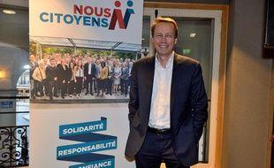 Denis Payre mène la liste «Nous citoyens» pour les élections européennes de 2014.
