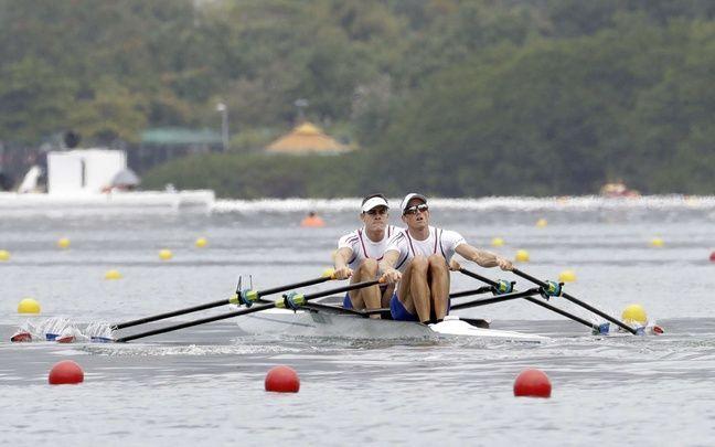 Avec Pierre Houin, Jérémie Azou (à droite) a remporté l'or aux JO de Rio.