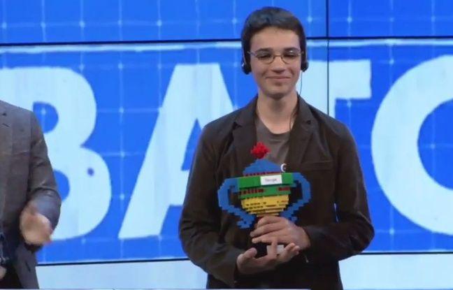 Capture d'cran YouTube /Google Science Fair 2015 Awards Celebration