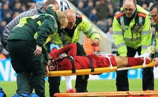 Mohamed Salah a subi un KO face à Newcastle en Premier League.
