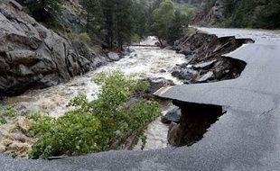 Innondations dans le Colorado le 14 septembre 2013.