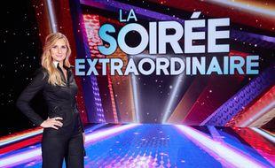 Marie Portolano sur le plateau de La soirée extraordinaire qu'elle présente sur M6.