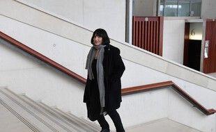La psychiatre Muriel Salmona arrive au tribunal de Pontoise, le 13 février 2018.