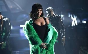 Rihanna sur scène le 29 mars à Los Angeles