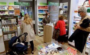 Une pharmacie en octobre 2020 (image d'illustration).