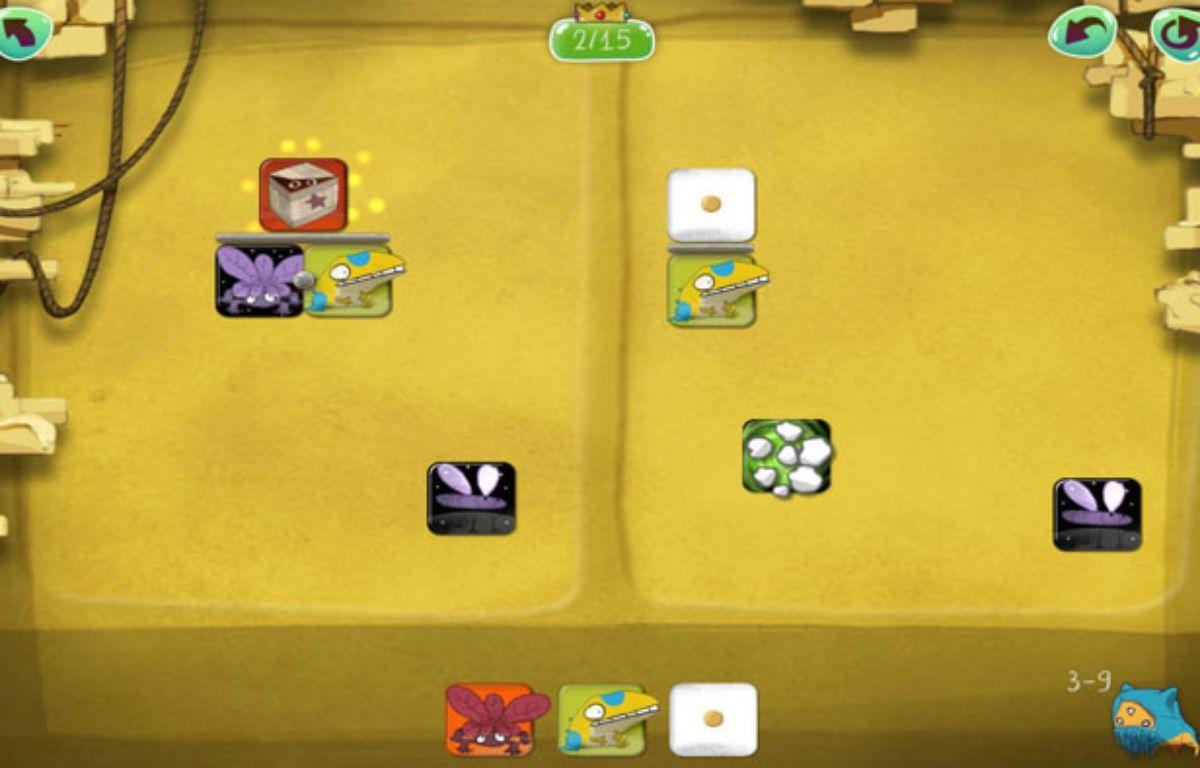 Capture d'écran de l'application mobile DragonBox Algebra. – We Want To Know