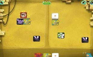 Capture d'écran de l'application mobile DragonBox Algebra.