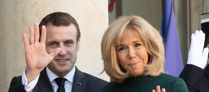Emmanuel et Brigitte Macron. (Illustration)