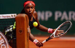 L'Américaine Coco Gauff, à Roland-Garros, le 07 juin 2021, à Paris.