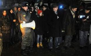 Des membres de l'opposition russe ont maintenu leur appel à un rassemblement jeudi à Moscou en soutien à Sergueï Oudaltsov, un dirigeant d'un mouvement d'extrême gauche emprisonné, bien que la mairie n'ait pas autorisé cette manifestation.