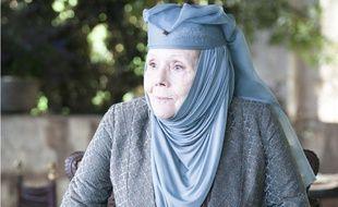 Diana Rigg a incarné Lady Olenna Tyrell dans la série culte « Game of Thrones ».