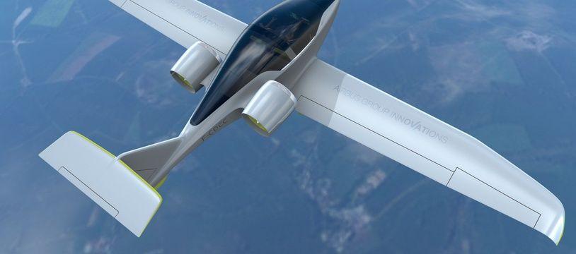 L'E-FAN, l'avion à propulsion électrique d'Airbus, a volé pour la première fois en 2014. Le programme a été arrêté en 2017.