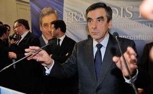 François Fillon, lors d'une conférence de presse le 27novembre 2012 à Paris.