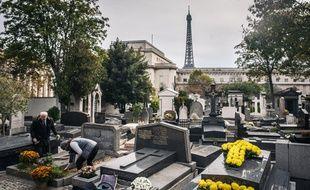 Image d'illustration du cimetière de Passy à Paris.