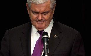 """L'ancien président de la Chambre des représentants américaine Newt Gingrich a annoncé qu'il abandonnait la course à l'investiture républicaine en vue de la présidentielle du 6 novembre, promettant toutefois de conserver un rôle de """"citoyen actif""""."""