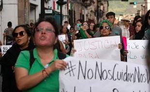 Manifestation de journalistes au Mexique pour faire stopper les violences contre leur profession en 2019
