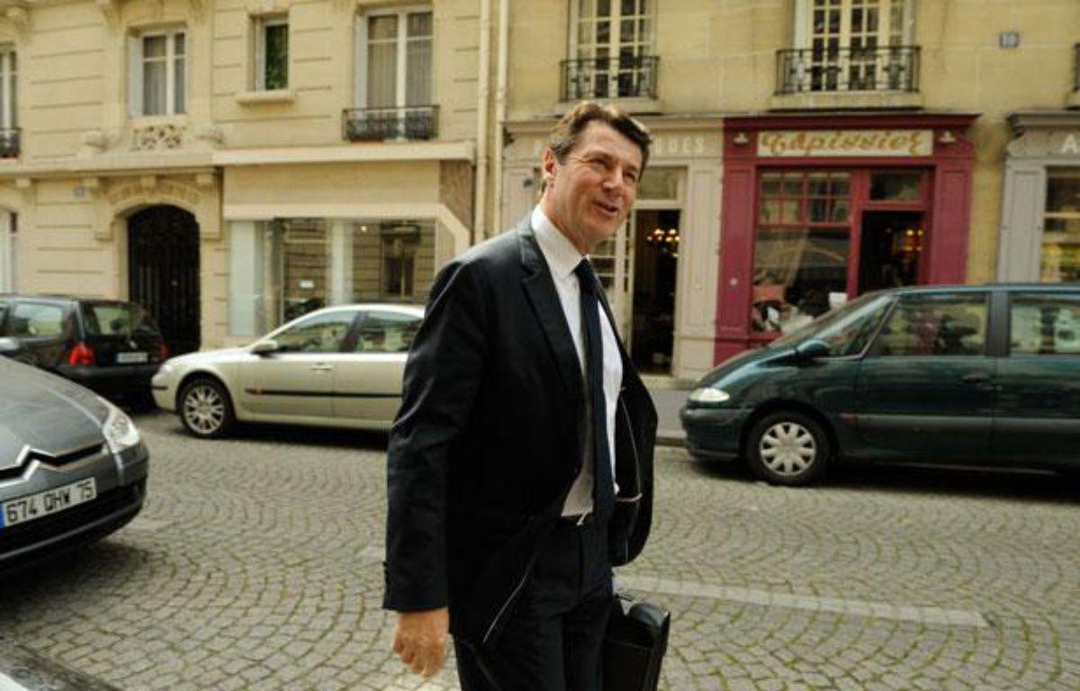 Christian Estrosi à Paris, le 30 mai 2012. – WITT/SIPA