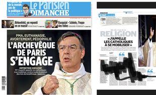 La Une du Parisien du 30 septembre 2018.