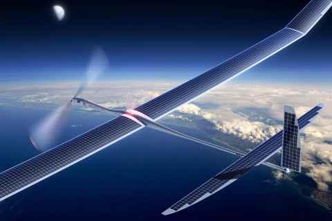 Google a abandonné son projet de réseau 5G par drones solaires