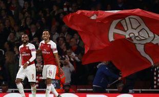 Les deux ex-pensionnaires de Ligue 1 (Lacazette et Aubameyang) buteurs à l'Emirates.