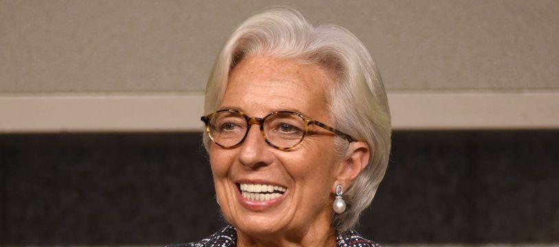 Christine Lagarde, le 8 novembre 2017. AFP PHOTO / Kazuhiro NOGI