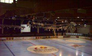La patinoire de l'Illberg, à Mulhouse