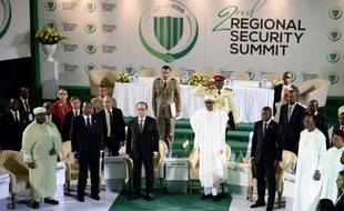 Cérémonie d'ouverture du sommet d'Abuja, le 14 mai 2016