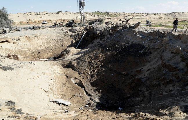 Proche-Orient: Frappes aériennes israéliennes sur Gaza en réponse à des tirs du Hamas