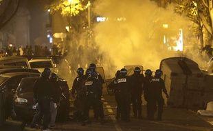 Lors d'une manifestation à Marseille, le 1er décembre. Illustration