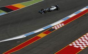 Nico Rosberg au Grand Prix d'Allemagne le 19 juillet 2014.