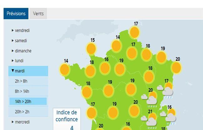 Le soleil devrait inonder la France ce mardi 17 avril.