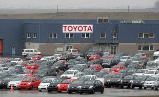 Le site de Toyota à Onnaing (Nord) près de Valenciennes le 2 février 2010.