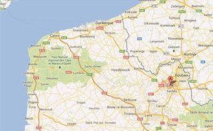 Google Maps de Lille