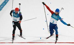 Martiiiiiiiiiiiiiiiiiiiiiiin champion olympique pour deux centimètres sur la mass-start.