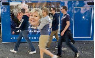 Erna Solberg, future premier ministre norvégienne