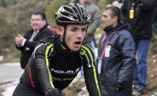 Le cycliste britannique Jonathan Tiernan-Locke, en février 2012.