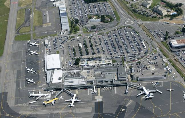 Aéroport Nantes-Atlantique.