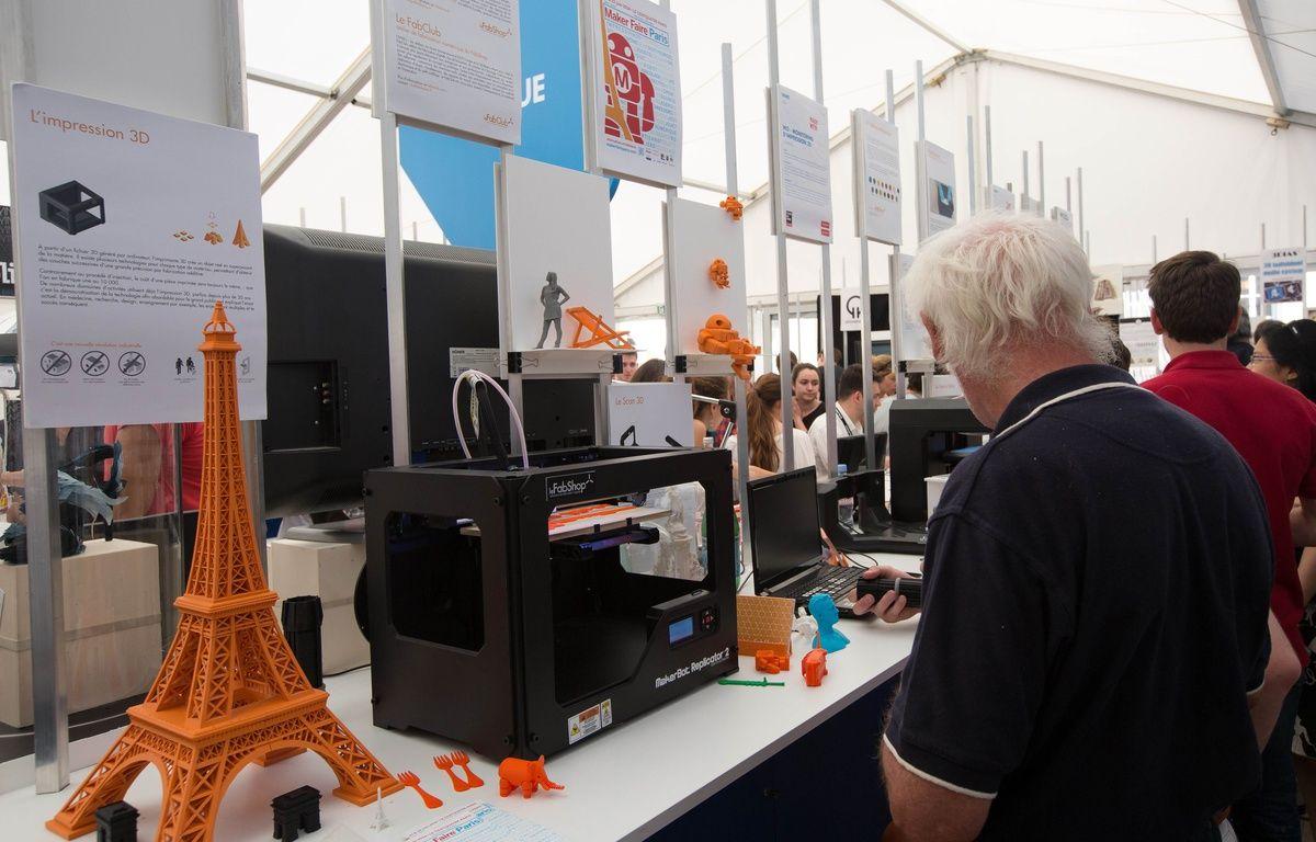 Le salon Futur en Seine expose les innovations dans le domaine numérique.  – MEIGNEUX/SIPA