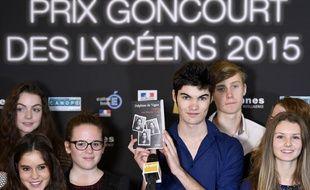 Le jury du Prix Goncourt des Lycéens, ce mardi 1er décembre à Rennes.