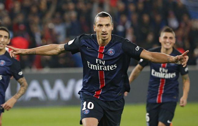 Zlatan Ibrahimovic a marqué deux penaltys face à l'OM samedi.