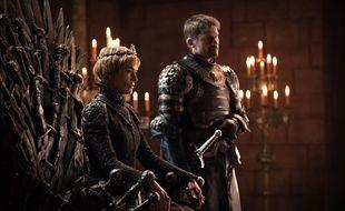 Cersei Lannister (Lena Headey) et  Jaime Lannister (Nikolaj Coster-Waldau) dans la saison 7 de «Game of Thrones».