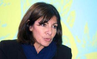 La maire de Paris Anne Hidalgo à Bordeaux, le 29 janvier 2015