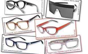 Sélection lunettes de vue.