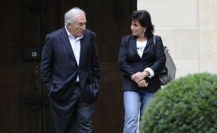 Dominique Strauss-Kahn s'est séparé de sa femme, Anne Sinclair, au printemps dernier.