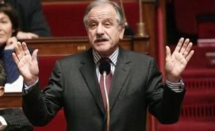 Noel Mamère, le 9 décembre 2009 à l'Assemblée.